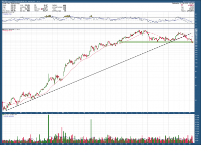 Regeneron – The End of the Bull?